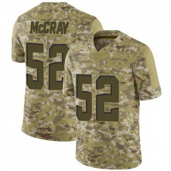 Men's Rob McCray Camo Limited 2018 Salute to Service Football Jersey