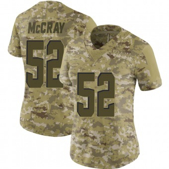 Women's Rob McCray Camo Limited 2018 Salute to Service Football Jersey